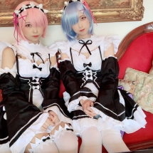 Luv Neo Girls Wave - Ram & Rem (Re:Zero)